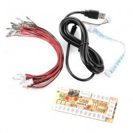 Zero Delay Arcade USB Encoder - 2.8 mm