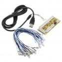 Zero Delay Arcade USB Encoder - 4.8 mm