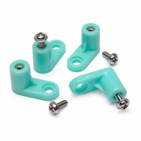 Screw in PCB feet blue (x4)