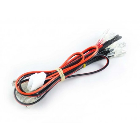 Insulated 12v LED Harness with Molex connector for Illuminated ...