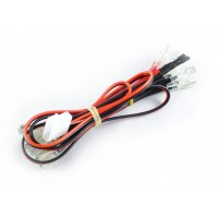Insulated 12v LED Harness with Molex connector for Illuminated Arcade Buttons 6.3mm