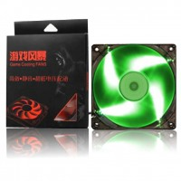 Blue Led cooling fan 12x12 cm