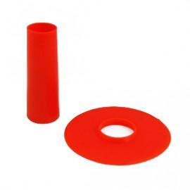 Seimitsu Red shaft & dustwasher set