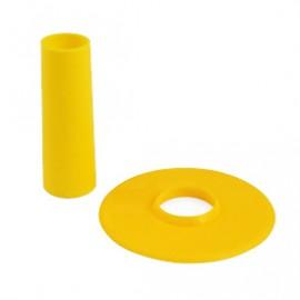 Seimitsu Yellow shaft & dustwasher set