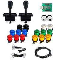 Kit Happs - 2 Players 18 buttons - Xin-Mo USB encoder