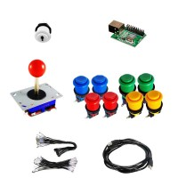 Kit Zyppyy - 2 Players 16 buttons - Xin-Mo USB encoder