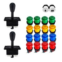 Kit Joystick Arcade Happs - 18 buttons