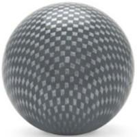 KDiT silver carbon mesh balltop
