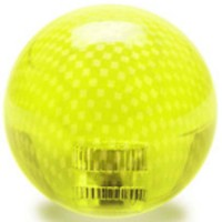 KDiT yellow transparent carbon mesh balltop