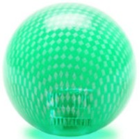 KDiT green transparent carbon mesh balltop