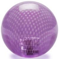 KDiT violet transparent carbon mesh balltop
