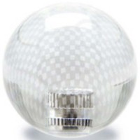 KDiT pink transparent carbon mesh balltop