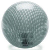 KDiT black transparent carbon mesh balltop