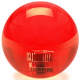 KDiT red 35mm transparent balltop