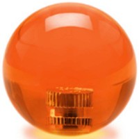 KDiT orange 35mm transparent balltop
