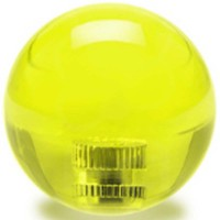 KDiT yellow 35mm transparent balltop