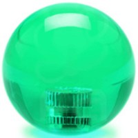 KDiT green 35mm transparent balltop