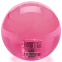 KDiT pink 35mm transparent balltop