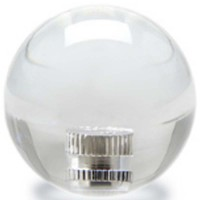 KDiT white 35mm transparent balltop