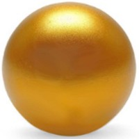 KDiT yellow metallic balltop
