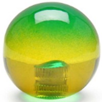 KDiT yellow & green translucent balltop