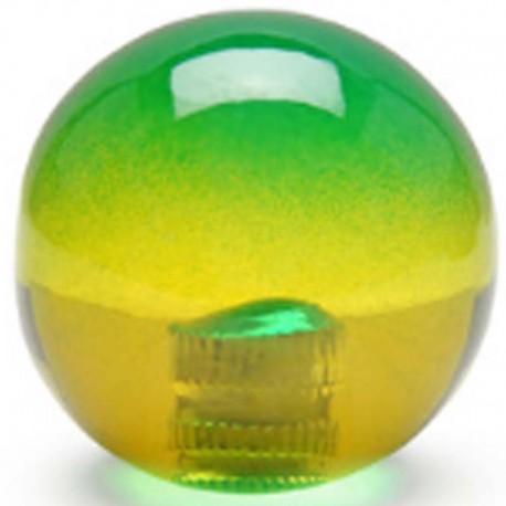 KDiT yellow & green translucent balltop