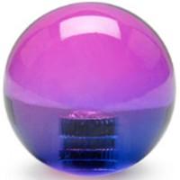 KDiT violet & pink translucent balltop