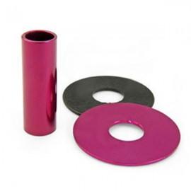 KDiT Purple aluminium shaft cover
