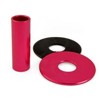 KDiT Pink aluminium shaft cover