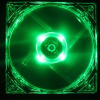 Green LED cooling fan 120x120mm