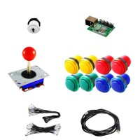 Kit Zippyy - 1 Player 9 buttons - Xin-Mo USB Encoder