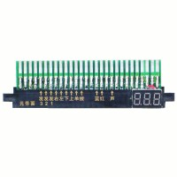 Jamma connector with +5v voltmeter