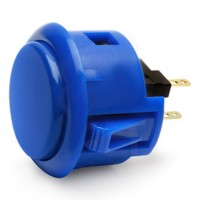 Royal Blue OBSF-30 Snap In button