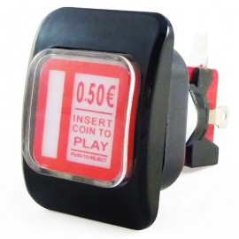 50 x 37 mm Credit Button
