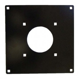 Mounting plate for 4,5 cm trackball