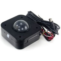 Illuminated 4,5 cm PS/2 Trackball
