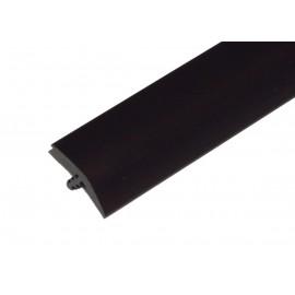 "T-Molding 3/4"" - black 1m"