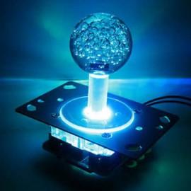 LED 2-4-8 way joystick with blue balltop