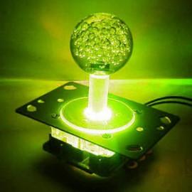LED 2-4-8 way joystick with yellow balltop