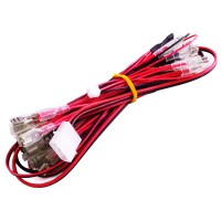 12v LED Harness for LED joysticks and push buttons with Molex connector