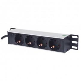 Rackable Outlet Strip - 25,4 cm - 4 outlets