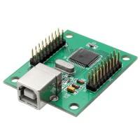 Encodeur USB Xin-Mo 2 joueurs - Connecteurs de 2.8 mm