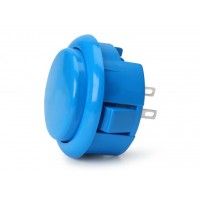 Blue Snap In 30 mm Button