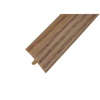 "T-Molding 3/4"" - Natural Oak Woodgrain 1m"