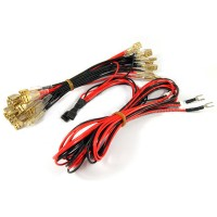 12v LED Harness for LED joysticks and push buttons with arcade connector