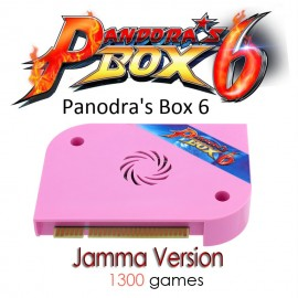 Pandora 6 Arcade Version 1300 in 1