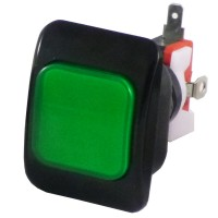 50 x 37 mm Credit Button - Green