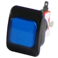 50 x 37 mm Credit Button - Blue