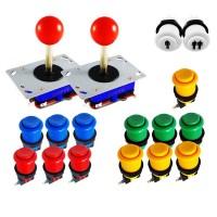 Kit Joystick Arcade Zyppyy - 18 buttons