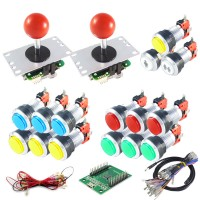 Kit Sanwa & LED Buttons with USB encoder